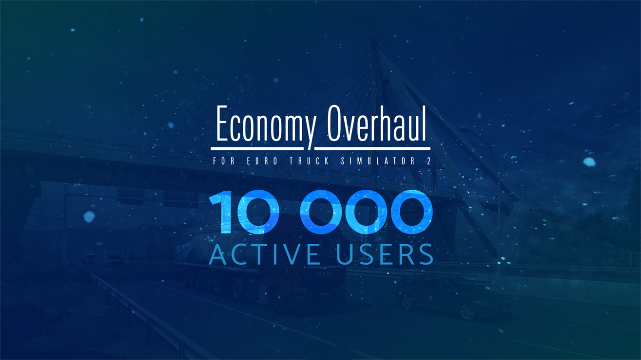 Economy Overhaul reached 10 000 active players